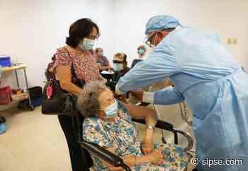 Yucatán: Abuelitos de Progreso, Tixkokob y Temozón reciben dosis de vacuna Pfizer - sipse.com
