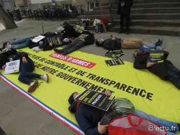 Lannion. Un Die-In d'Amnesty International sur la place du centre - Le Trégor
