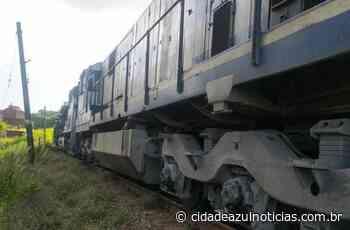 Homem é atropelado por um trem e morre em Santa Gertrudes - Cidade Azul Notícias