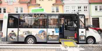 Vier E-Midi-Busse in Heilbad Heiligenstadt in Betrieb - electrive.net - www.electrive.net