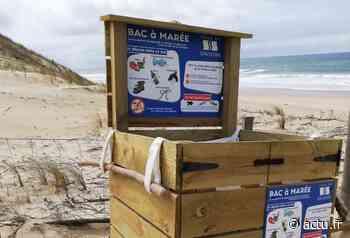Soustons. Un bac à marée installé sur la plage - actu.fr