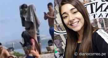 Gianella Ydoña es captada con amigos en playa de Chancay pese a estar prohibida por la pandemia de COVID-19 (VIDEO) - Diario Correo