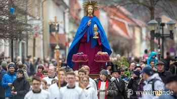 Palmsonntag in Heiligenstadt ohne traditionelle Prozession - MDR