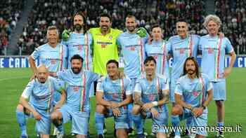 La Nazionale Cantanti a Villafranca di Verona per il primo torneo Antares - Verona Sera