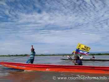 Caravana afirma que Puerto Wilches es pesca, no petróleo - Agencia de Comunicación de los Pueblos Colombia Informa