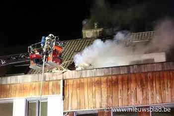 Brand in Schelle veroorzaakt veel schade in appartement (Schelle) - Het Nieuwsblad