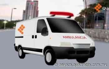 Deja 2 heridos choque de moto contra taxi en Puerto Escondido 18:53 28 Mar 2021 - Quadratín Oaxaca