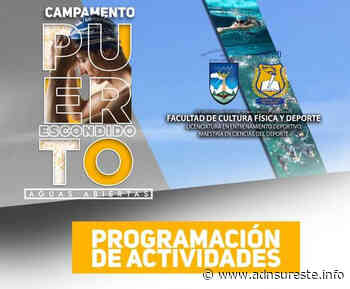 """El 10 de abril empieza el """"Campamento Puerto Escondido de Aguas Abiertas 2021"""" (12:00 h) - ADNl sureste"""