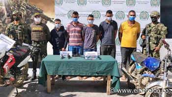 Capturan a cinco hombres armados en Majagual, Sucre - EL HERALDO