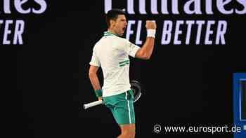 Novak Djokovic: Für Vater Srdjan zieht er mit Legenden wie Tiger Woods und Michael Jordan gleich - Eurosport DE