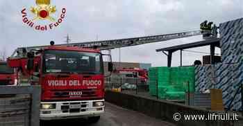 22.20 / Maniago, incendio in una centralina fotovoltaica - Il Friuli