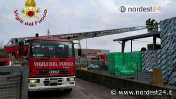 Maniago, incendio di una centralina a trasformazione fotovoltaica - Nordest24.it