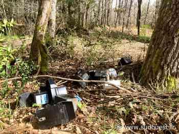 Lacanau : de vieux compteurs Enedis jetés dans la nature - Sud Ouest