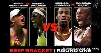 BEEF VOTE: Serena Williams vs. Maria Sharapova OR Michael Johnson vs. Donovan Bailey - SB Nation