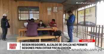 Chilca: Regidores aseguran que alcalde no permite realizar sesiones - América Televisión
