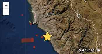 Sismo en Lima hoy: Temblor de magnitud 3.8 se registró en Chilca - Periodismo en Línea