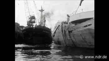 """Frachter """"Brunswick"""" bei Werft Howaldtswerke Hamburg (stumm) - NDR.de"""