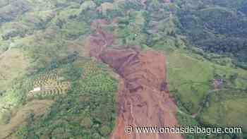 Herveo registra derrumbe de grandes magnitudes en la vereda Mesones - Ondas de Ibagué