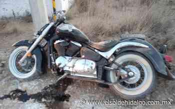 Motociclista resulta lesionado al accidentarse en Apan - El Sol de Hidalgo