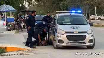 Tod in mexikanischem Urlaubsort: Polizisten brachen Frau das Genick