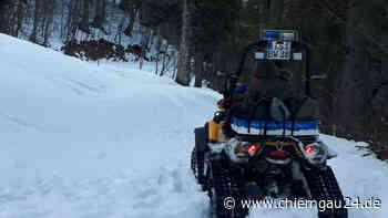 Bergwacht Grassau rettet Wanderer von schneebedeckter Hochplatte - chiemgau24.de