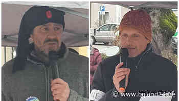 Demonstration mit rund 80 Teilnehmern gegen die Corona-Politik in Grassau - bgland24.de