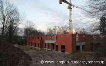 Orthez : le nouvel Ehpad d'Orpea commence à sortir de terre au château de Préville - La République des Pyrénées