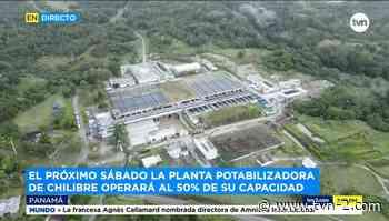 Potabilizadora de Chilibre operará al 50% este sábado - TVN Panamá