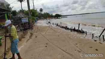 Cierre temporal de playas en San Antero por mar de leva - LA RAZÓN.CO