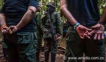 Captura contra cabecillas de disidencias por reclutar menores que murieron en bombardeo - W Radio