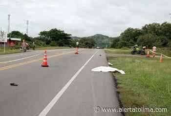 Abuelito ciclista murió al ser atropellado por carro fantasma en la vía a Natagaima - Alerta Tolima