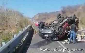 Accidente en la carretera Chilpancingo-Tixtla deja seis mujeres heridas - El Sol de Acapulco