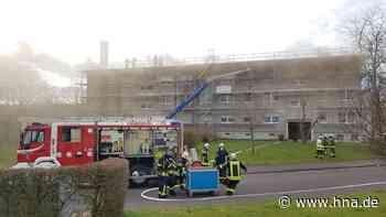 Brand in Fritzlar: Wohnhaus unbewohnbar - 36 Bewohner müssen untergebracht werden - HNA.de