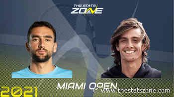 2021 Miami Open Third Round – Marin Cilic vs Lorenzo Musetti Preview & Prediction - The Stats Zone