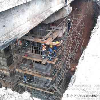 Concluídas obras de reforço em pilar da pista Sul do km 350 da BR-386 - Folha Popular