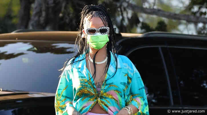 Rihanna Turned a Grocery Store Parking Lot Into Her Runway with This Chic Look