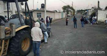 Inician obra en el barrio de Guadalupe Victoria - Intolerancia Diario