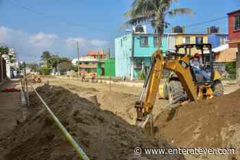 Inician trabajos de pavimentación en colonia Guadalupe Victoria - Enteratever