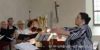 """Ausgezeichnete Musik zur Ehre Gottes: Petra Hurth wurde mit der """"Soli deo gloria""""-Nadel der bayerischen Landeskirche geehrt. – Lokale Nachrichten aus Stadt und Landkreis Schweinfurt - inUNDumSCHWEINFURT_DE"""