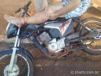 Homem é preso por tentativa de homicídio ao atropelar motociclista em Pitangueiras - Thathi