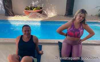 """Marilia Mendonça treina com a mãe: """"Cuidando de quem eu amo"""" - QUEM Acontece"""