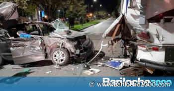 Accidente fatal en El Bolsón - Bariloche 2000
