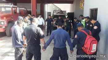 Bomberos, listos en Huatabampo - Diario del Yaqui