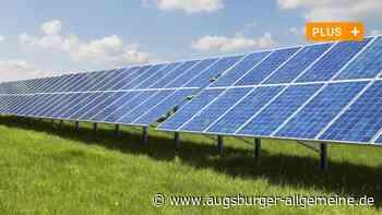 Der Solarpark in Ederheim soll kommen - Augsburger Allgemeine
