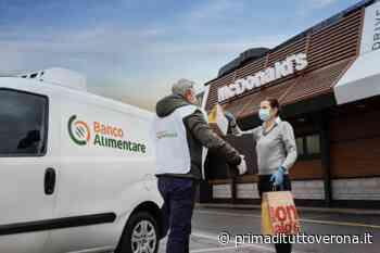 San Bonifacio McDonald's donerà 48 pasti caldi ogni settimana alle famiglie in difficoltà - Prima Verona