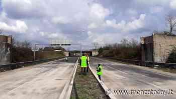 Milano-Meda, riaperta al traffico la strada dopo la demolizione del ponte di Bovisio - MonzaToday