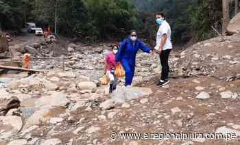 Huancabamba: equipos integrales de salud de la DIRESA continúan atendiendo a damnificados de Canchaque - El Regional