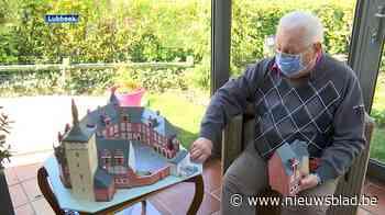 Herman (83) bouwt Kasteel van Horst na in miniatuurversie