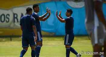 Sporting Cristal le ganó 5-0 a Universidad San Martín en un juego amistoso - El Bocón