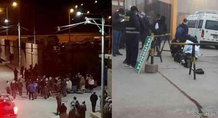Puno: Extranjero muere tras ser linchado por pobladores de Desaguadero - Diario Perú21